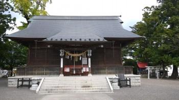 飯山温泉八幡神社本殿