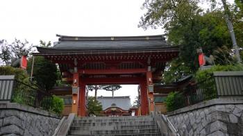 東伏見稲荷神門