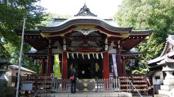 南沢氷川神社拝殿